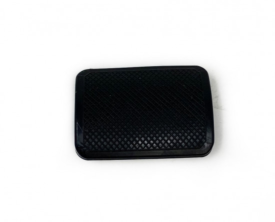 Black rear brake pedal rubber