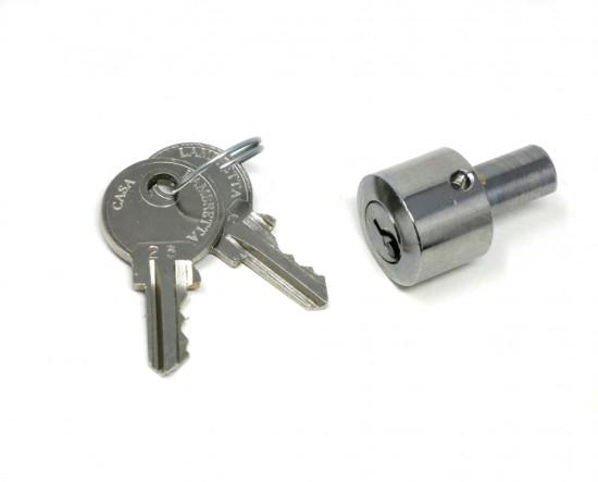 Steering lock for Lambretta S3 + TV3 + Special + SX + DL + Serveta