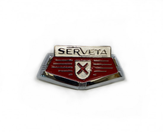 'Serveta' front horncasting badge