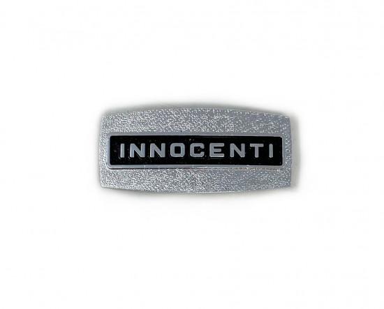 """front square shield badge """"Innocenti"""""""