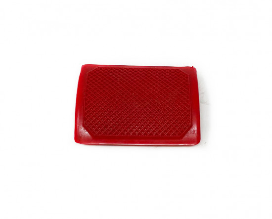 Red rear brake pedal rubber Lambretta S1 + S2 + S3 + SX + DL + J