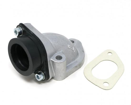 Collettore aspirazione Casa Lambretta X12 per carburatori 24/25/26mm per kit Casa185 + Lambretta 125/150/175cc