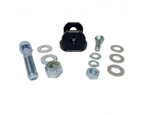 Casa Performance rear shock bracket adapter Lambretta J engine to Vega frame