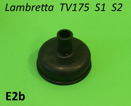 Rubber protection cap for key ignition switch (Item E64) for Lambretta TV175 S1 + S2