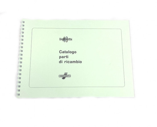Parts catalogue Lambrettino 48