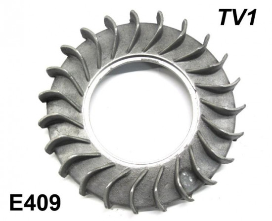 Aluminium flywheel fan for Lambretta TV175 Series 1