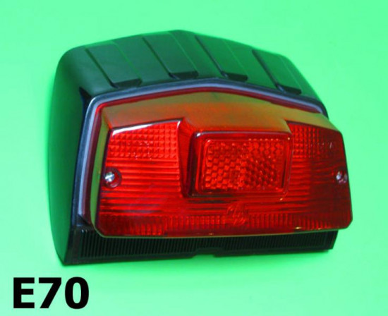 Complete Casa Lambretta rear light unit for all Lambretta DL/GP