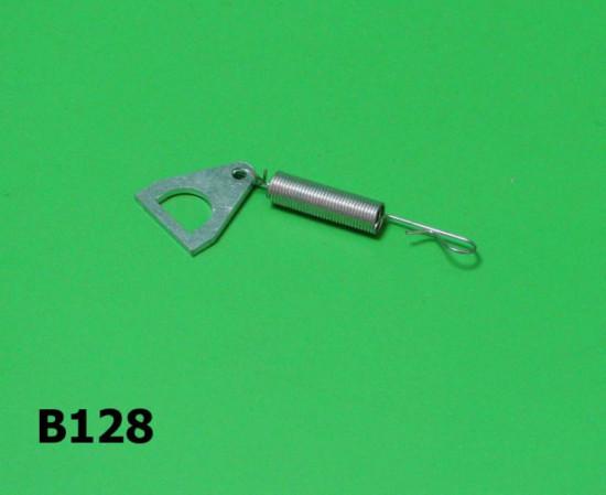 Toolbox spring + bracket Lambretta S1 + S2 + S3 + SX + DL/GP