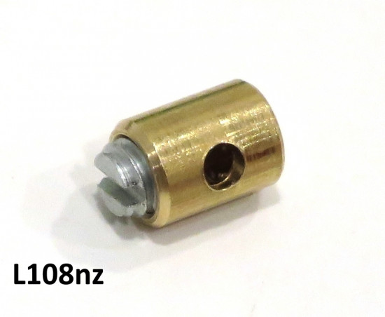 Solderless nipple (screw type) for throttle cable inner