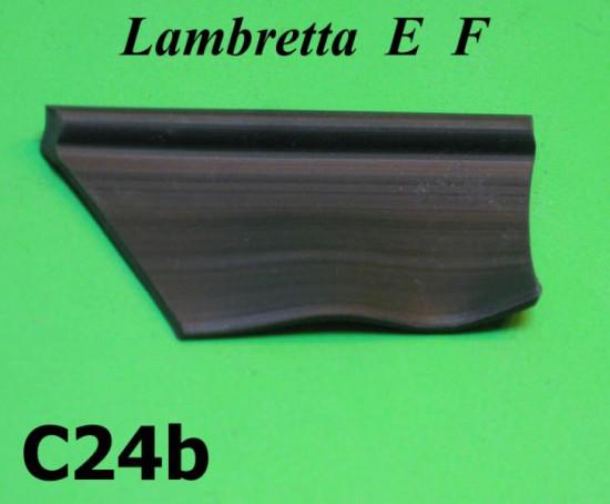 Rubber anti vibration spacer between legshield - frame Lambretta E F