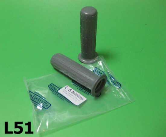 Pair of grey handlebar grips for all Series 1 + S2 models