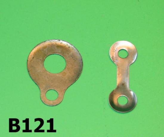 Clutch + chain tensioner secure washers Lambretta S1 + S2 + S3 + DL/GP