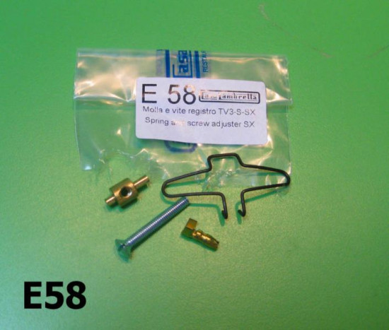 Screw-adjuster-spring for headlamp reflector Special SX TV GT