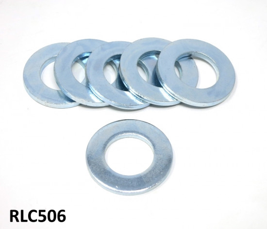 Set of 6 of rear suspension thick spacer shims