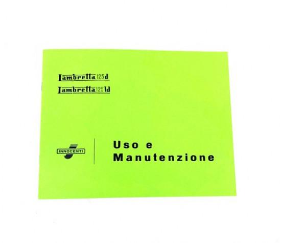 Owners manual Lambretta D125 LD125