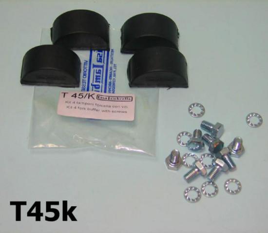 Complete fork buffer kit (4 x fork buffers kit + all fasteners) for 125cc + 150cc models