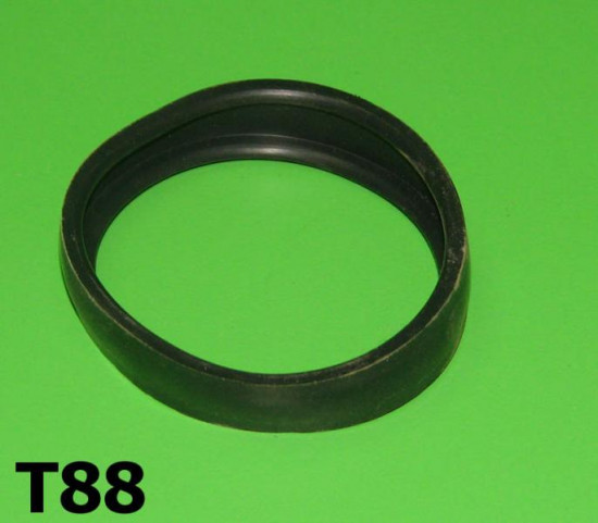 Torsione bar rubber protection band