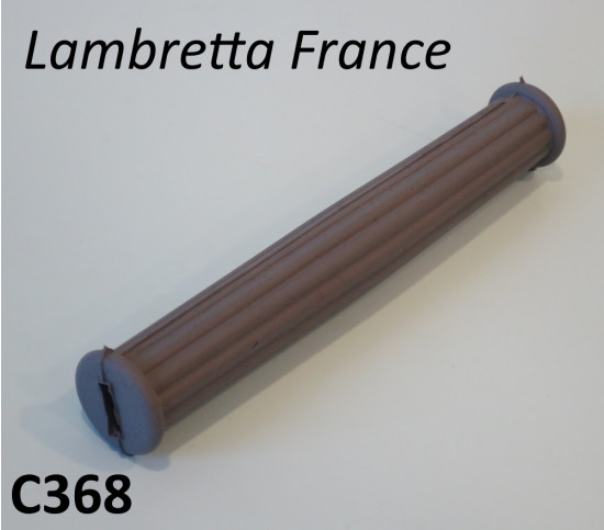 Grey rubber passenger handle cover Lambretta LD France