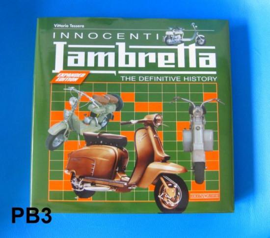 'Innocenti Lambretta' book by Vittorio Tessera (English version)