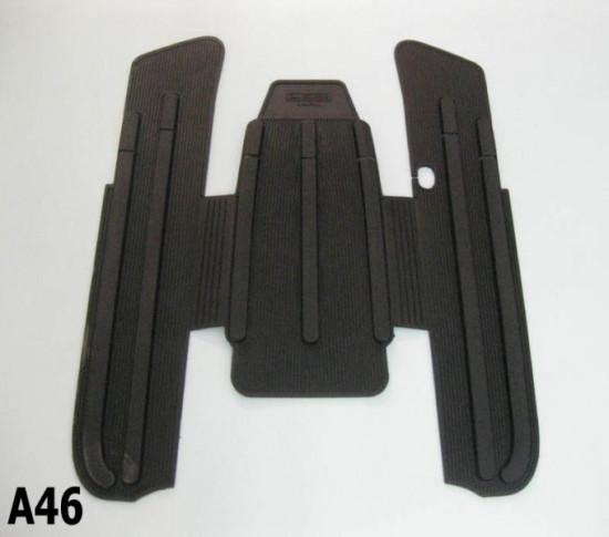 Black rubber mats Lambretta J