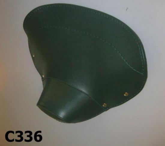 Green rear single seat cover - Closed Type - Lambretta LD150 '54-'56