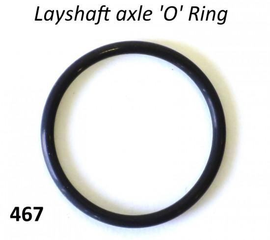 Layshaft O-Ring for Lambretta S1 + S2 + TV2 + S3 + TV3 + Special + SX + DL + Serveta