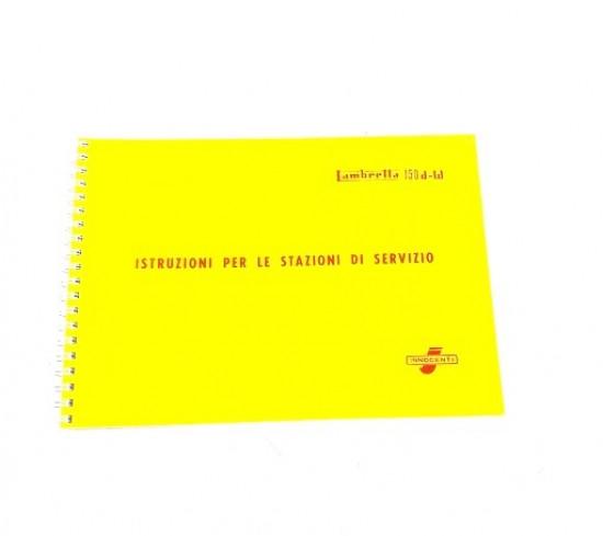 Workshop manual 150D LD150 LD125 '56