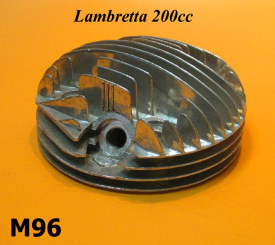 Cylinder head Lambretta SX200 + TV200 + DL200