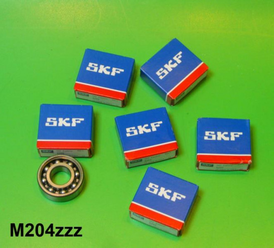 Set of high quality 6 x bearings for crankshaft + rear transmission (6203)