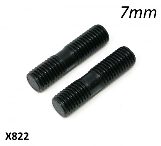 Pair of special high quality 7mm exhaust studs by Casa Performance
