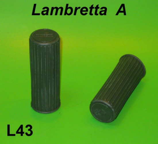 Pair of green grips