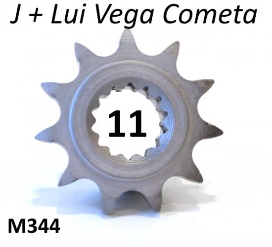 11T front sprocket (NON cush drive type) for Lambretta J50  + Lui 50 (+ tuning)