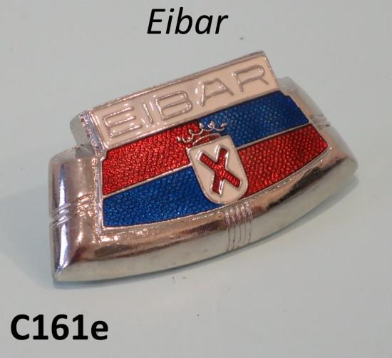 'Eibar' front horncasting badge for Series 2 Spanish Lambretta's