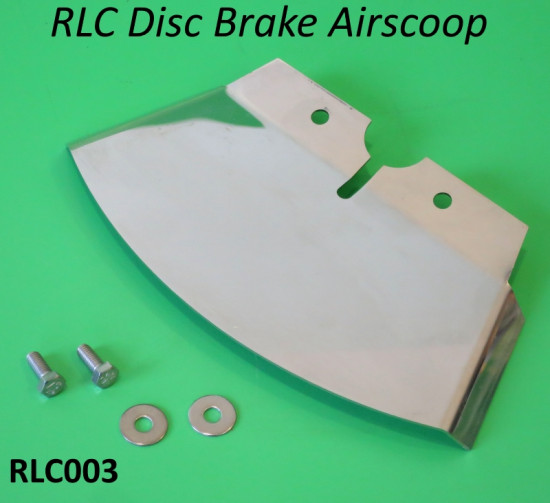 Disc brake airscoop