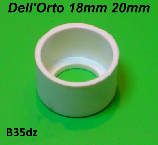 Nylon bush for 18mm + 20mm Dell'Orto SH1 type carburettor Lambretta S3