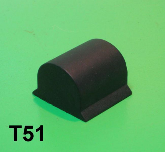Lower push in front suspension rubber buffer