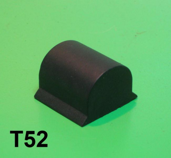 Upper push in front suspension rubber buffer