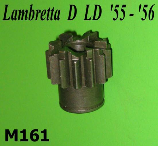 Kickstart gear cog T13 (with circlip recess type)  Lambretta D LD (mid '55 - mid '56)