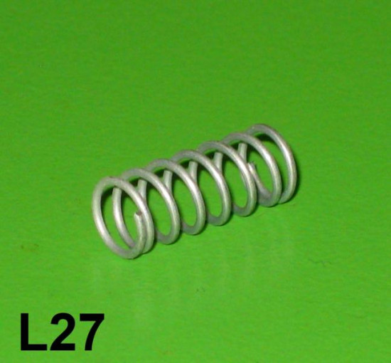 Spring for plastic anti-vibration cap (in handlebar lever)