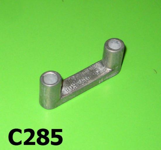 Lower number plate aluminium spacer Lambretta D150