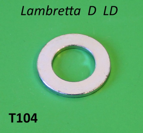 Spacer washer for torsion bar top '8' bar linkage Lambretta D LD