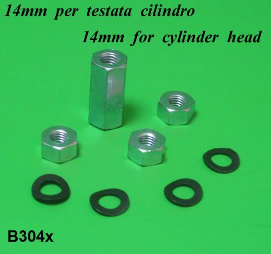 Cylinder head hardware kit Lambretta S1 + S2 + S3 + SX