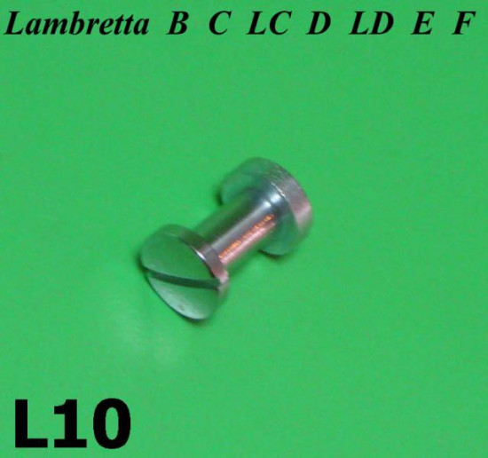 Chromed handlebar lever pin