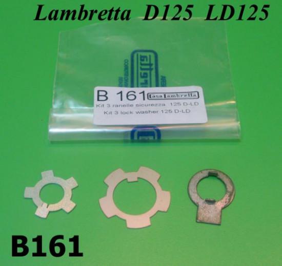 Engine nut secure washers Lambretta D + LD125
