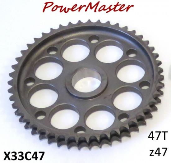47T crownwheel for Casa Performance PowerMaster clutch (cush drive type)
