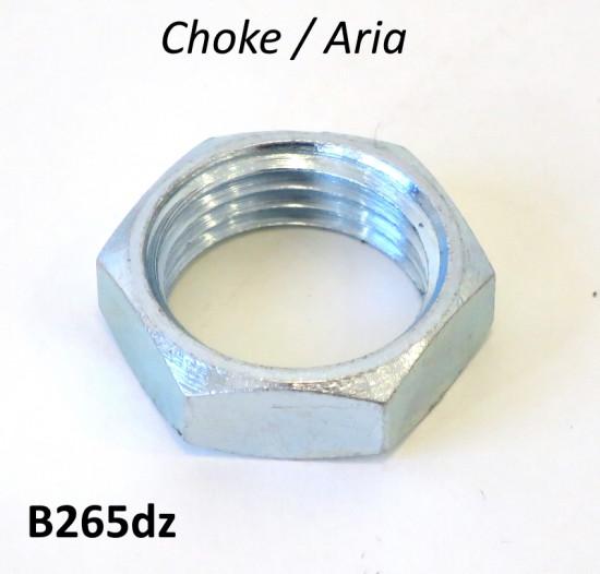 Choke lever nut for Lambretta S1 + S2 + S3 + TV3 + Special + SX + Serveta