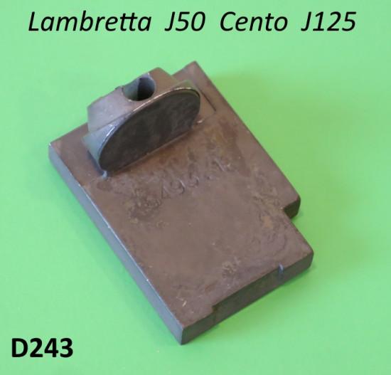 ORIGINAL Dell'Orto slide (No.6493-1) for SHB 12 - 16 - 18mm carbs Lambretta J