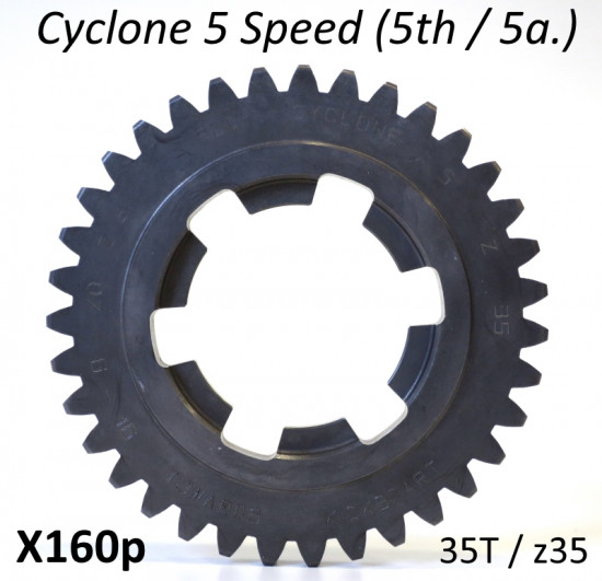 35T 5th gear cog for Cyclone 5 Speed gearbox