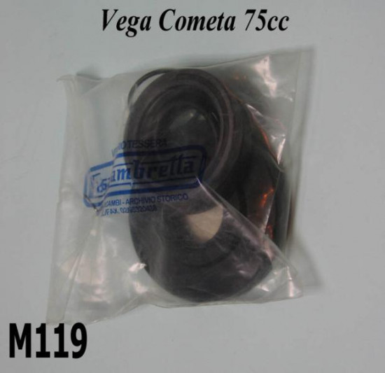Complete engine oilseal set for Lambretta Lui Vega Cometa 75cc