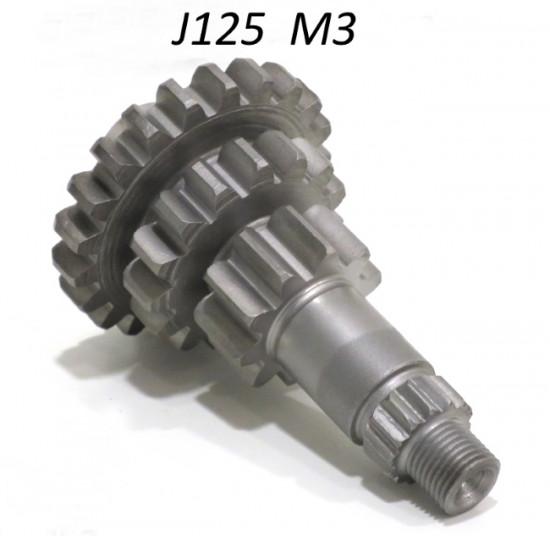 3 speed gearbox cluster  for Lambretta M3 J125